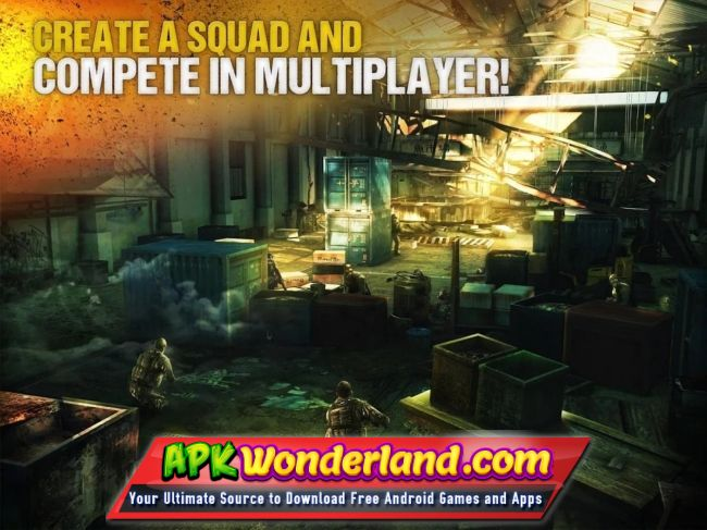 Modern Combat 5 eSports FPS 3.2.1c Apk Full Mod Free Download for Android