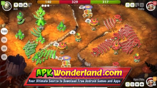 Mushroom Wars 2 2 3 5 Apk Data Free Download For Android