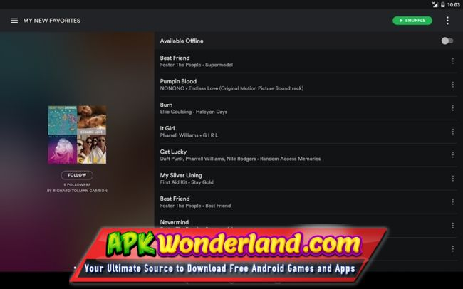 Spotify Music Premium 8 4 64 539 Apk Mod Free Download for