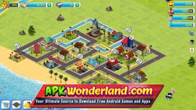 village life mod apk download