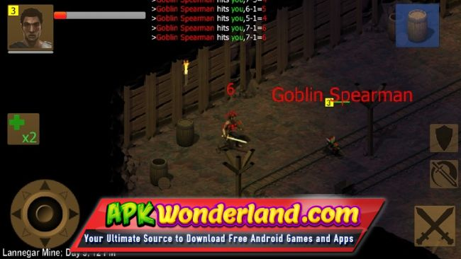 Exiled Kingdoms RPG Full 1 2 1110 Apk + Mod Free Download for