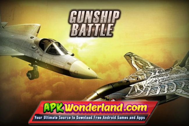 GUNSHIP BATTLE Helicopter 3D 2 6 61 Apk + Mod Free Download for