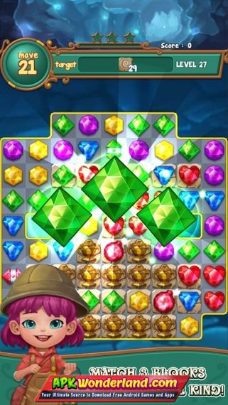 Jewels Fantasy Match 3 Puzzle 1 0 37 Apk Mod Free Download For Android Apk Wonderland