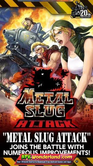 METAL SLUG ATTACK 3.12.1 Apk Mod Free Download for Android Y 1 - Dead Ahead: Zombie Warfare 3.zero.three Apk Mod Latest