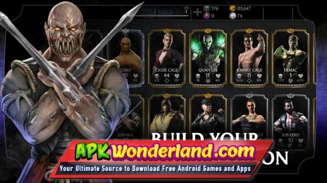 MORTAL KOMBAT X 1 19 0 Apk MOD Free Download for Android - APK