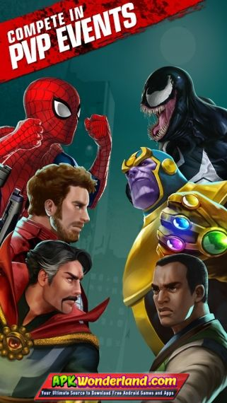 Marvel Puzzle Quest 160 453840 Apk Free Download for Android