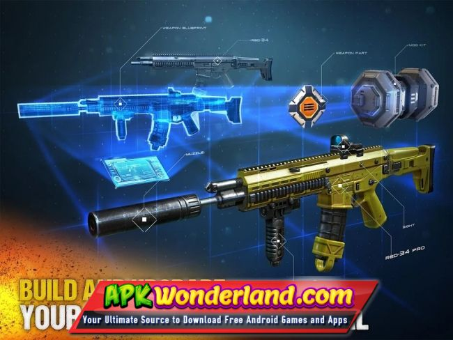 Modern Combat 5 eSports FPS 3 3 0g Apk Full + Mod Free Download for