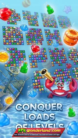 pirates pearls a treasure matching puzzle 1 5 600 apk mod free
