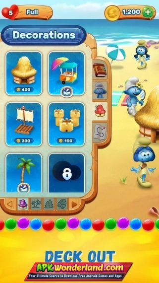 Smurfs Bubble Story 1 14 14597 Apk Mod Free Download For