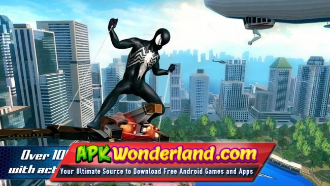 The Amazing Spider Man 2 1 2 6d Apk + Mod Free Download for