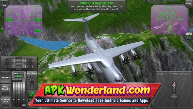 Turboprop Flight Simulator 3D 1 19b Apk + Mod Free Download for