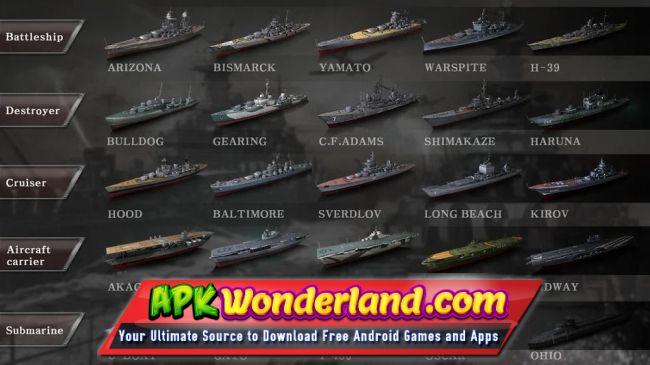 WARSHIP BATTLE 3D World War II 2 6 3 Apk Free Download for
