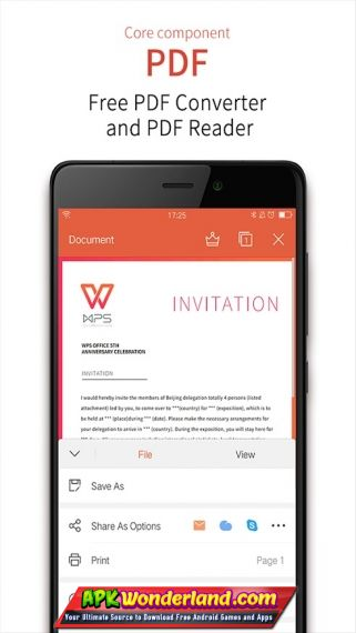 WPS Office 11 1 5 Full Apk+Mod Free Download for Android