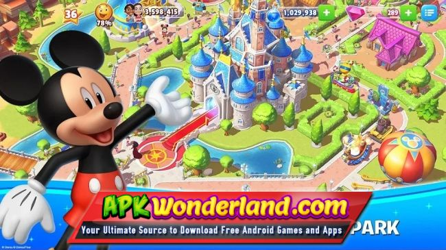 Disney Magic Kingdoms 3 3 0i Apk Free Download for Android
