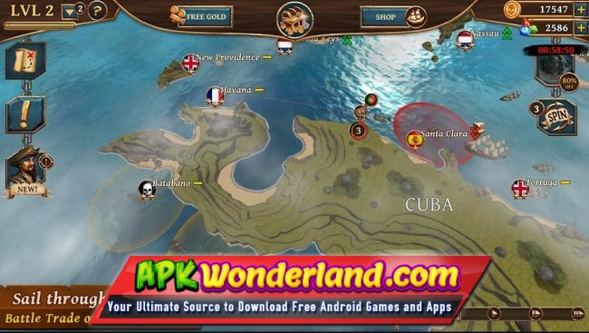 Ships of Battle Age of Pirates 2 3 0 Apk + Mod Free Download