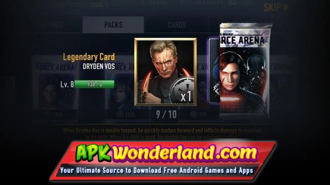 star wars force collection apk mod