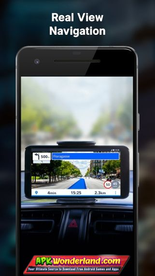 Sygic Gps Navigation and Maps 17.4.18 Full Patched Apk Free Download on