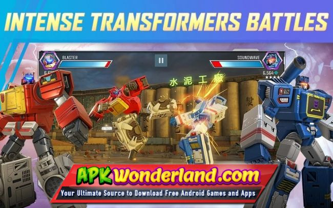TRANSFORMERS Forged to Fight 7 0 1 Apk + Mod Free Download