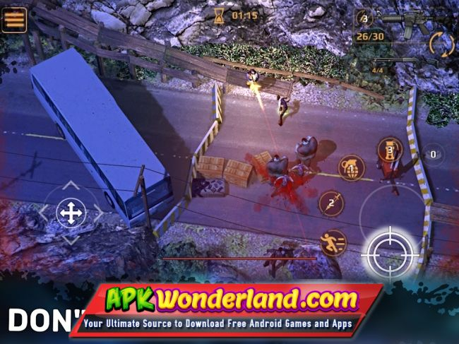 zombie shooter mod apk android 1