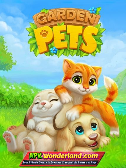 Garden Pets Match 3 Dogs & Cats Home Decorate 1 23 Apk Free