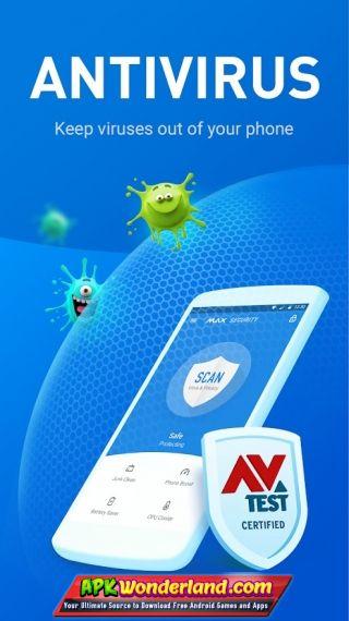 Max security antivirus, virus cleaner, booster 1. 7. 4 apk free.