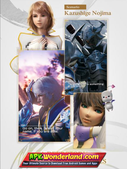 MOBIUS FINAL FANTASY 2 0 110 Apk + Mod Free Download for Android