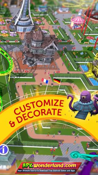 RollerCoaster Tycoon Touch 2 4 3 Apk + Mod Free Download for Android