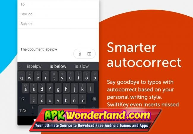 f4b5f939299 SwiftKey is always learning and adapting to match your unique way of typing  – including your slang, nicknames and emoji. The keyboard provides  autocorrect ...