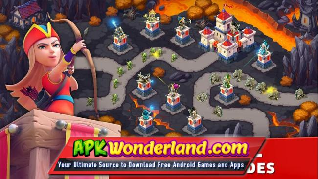 Toy Defense 3 Fantasy 2 2 2 Apk + Data Free Download for Android