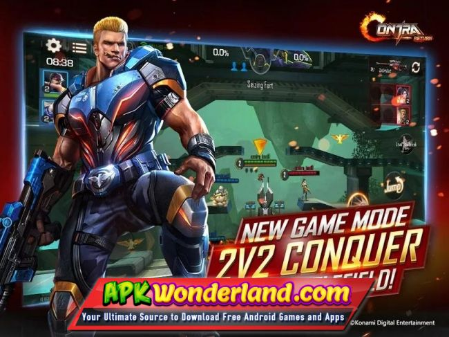 contra nes android