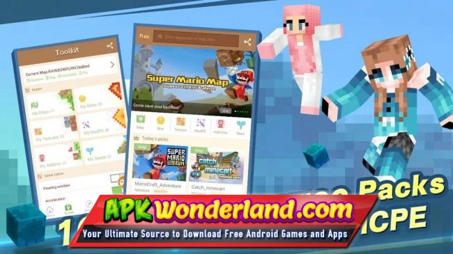 Master for Minecraft Launcher Apk Mod Free Download for