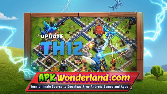 Clash Of Clans11 185 19 Apk Mod Free Download For Android Apk Wonderland