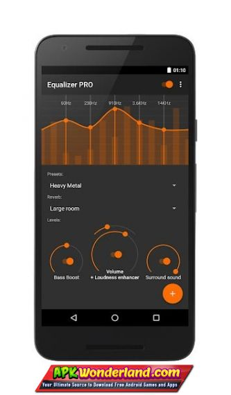 Equalizer Bass Boost 2 1 1 Apk Mod Free Download for Android