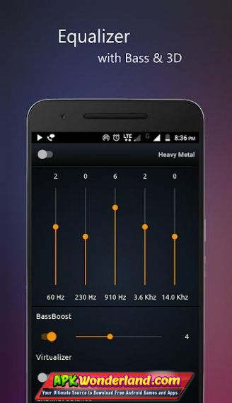 PowerAudio Pro Music Player 7 0 9 Apk Mod Free Download for