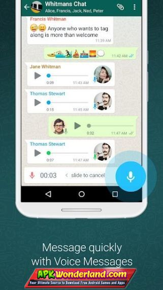 WhatsApp Messenger 2 19 75 Apk Mod Free Download for Android