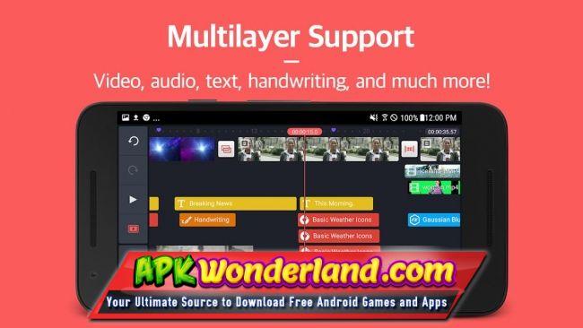KineMaster Pro Video Editor 4 9 10 12802 Unlocked Apk Mod Free