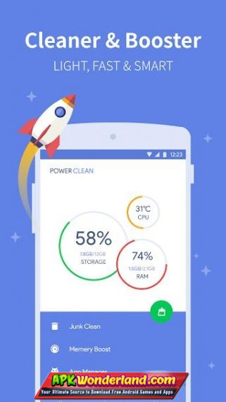 Power Clean Optimize Cleaner 2 9 9 63 Apk Mod Free Download for