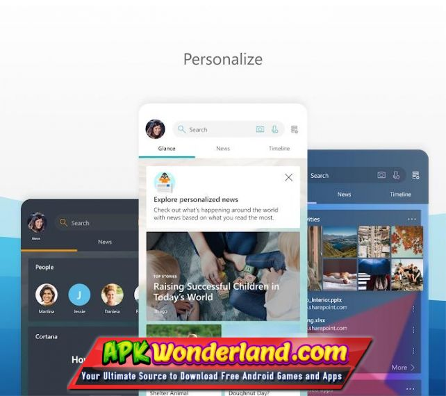MICROSOFT LAUNCHER 5 5 0 51912 Apk Mod Free Download for