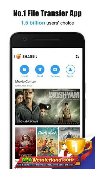 SHAREit Connect & Transfer 4 8 8 Apk Mod Free Download for