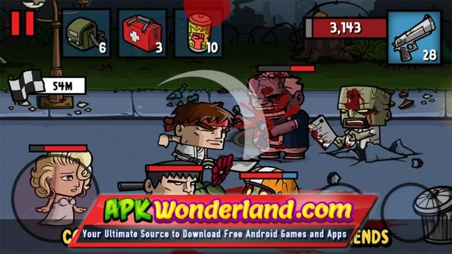 Download Zombie Age 3 v 1.6.8 Games Mod Apk Android
