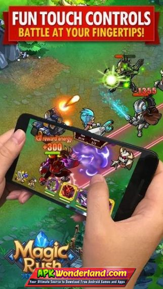 Magic Rush Heroes 1 1 222 Apk Mod Free Download for Android