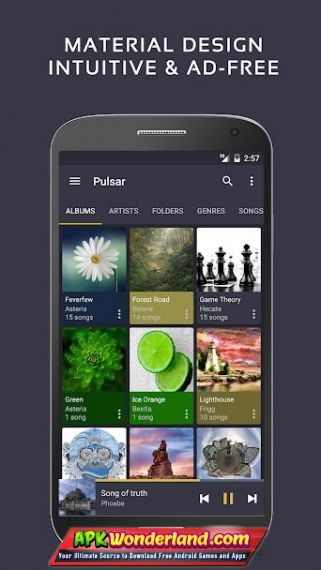 Pulsar Music Player Pro 1 9 1 Apk Mod Free Download for Android