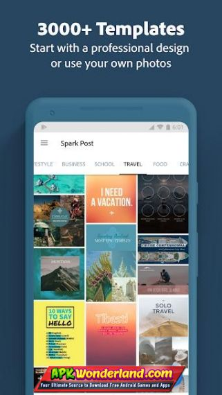 Adobe Spark Post Premium 3 4 2 Apk Mod Free Download for