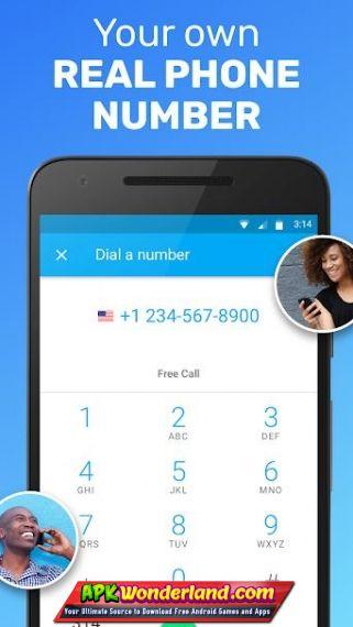 TextNow free text calls Premium 6 34 0 3 Apk Mod Free Download for