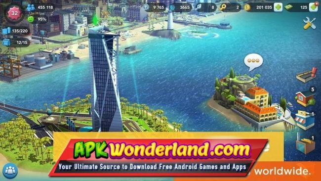 SimCity BuildIt 1.29.2.89138 Apk Mod Free Download for ...