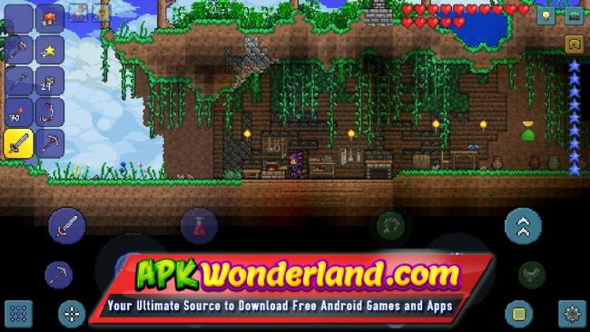 Terraria 1 3 0 7 7 Apk Mod Free Download For Android Apk Wonderland